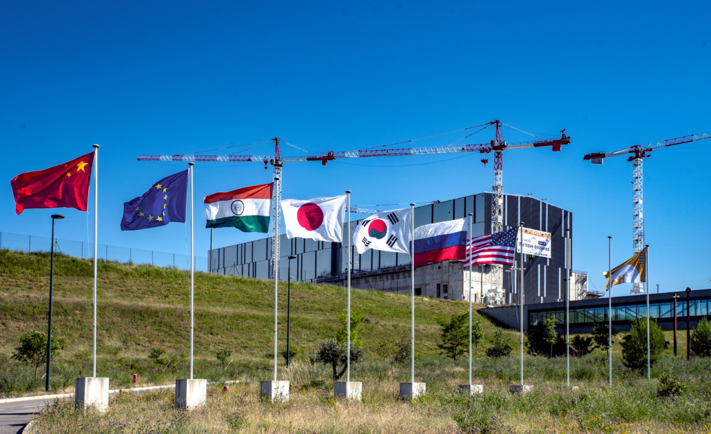ITER: The seven ITER members: China, European Union, India, Japan, South Korea, Russia, the United States.