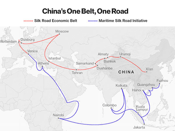 China's huge infrastructure project One Belt One Road is going straight through the land of Uyghurs.
