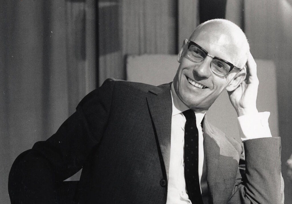 Michel Foucault, one of the main thinkers in postmodernism.
