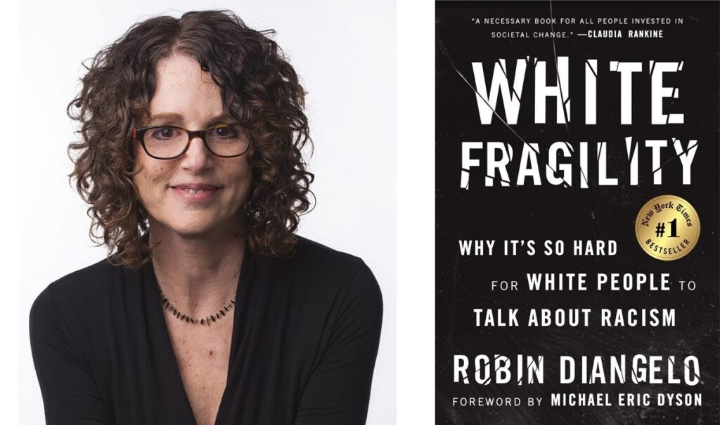 White Fragility by Robin DiAngelo is a highly controversial book that has been heavily criticized. Postmodernism and critical race theory run through it.