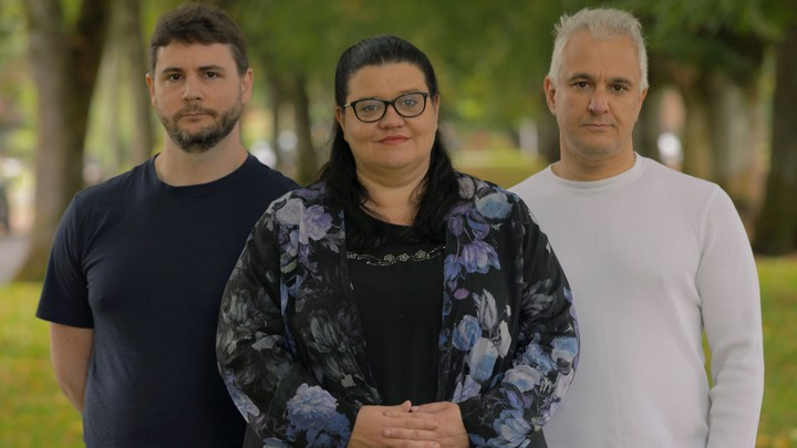 J. Lindsay, H. Pluckrose and P. Boghossian. Photo: Mike Nayna were behind the grievance studies affair and they can all see the effects postmodernism is having on society.