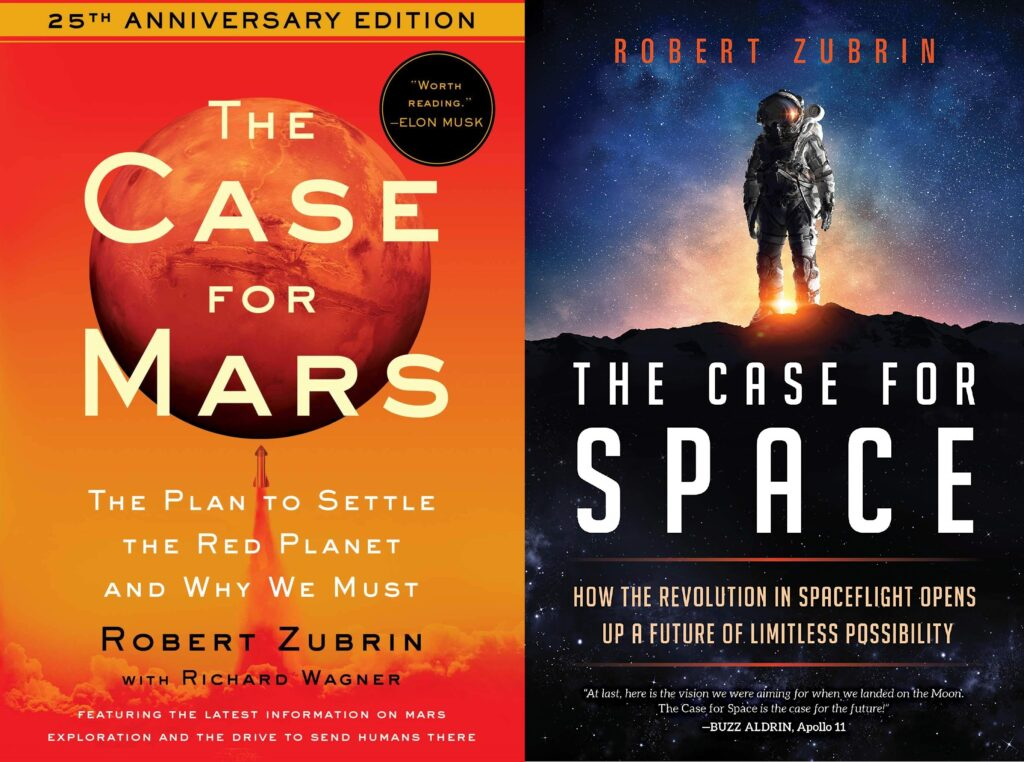 Dr. Zubrin has written several books about space exploration and how we could settle on Mars.