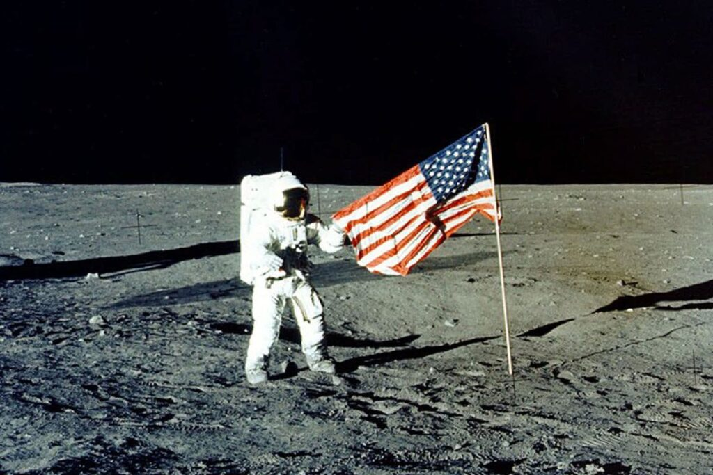 The Moon landing is our greatest milestone in space exploration so far. Landing on Mars will probably be our next.
