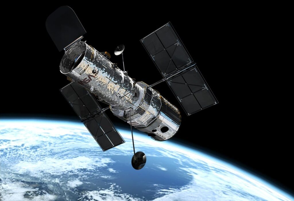 The most successful telescope we have at observing exoplanets and their atmospheres has been the Hubble Space Telescope.