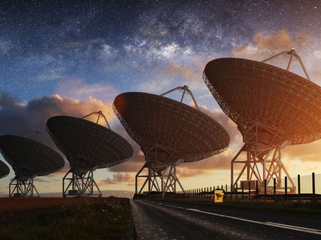 SETI - Search for Extraterrestrial Intelligence has been going on since the 1980s.