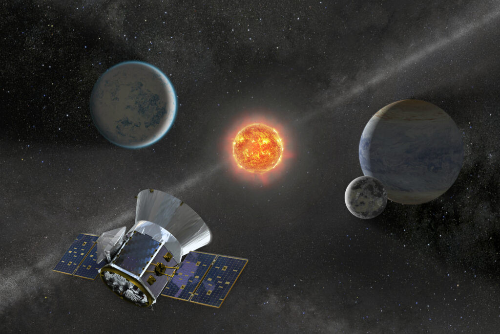 TESS - an incredibly important part in the search for exoplanets.